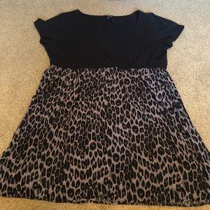 Torrid plus size 4 animal print dress